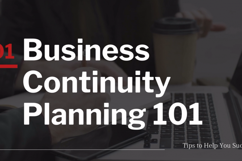 Business Continuity 101